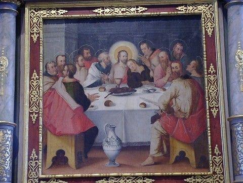 Altar Abendmahl